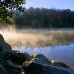 Mist over Price Lake