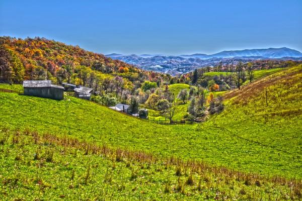 Valley Farm near Mt. Mitchell