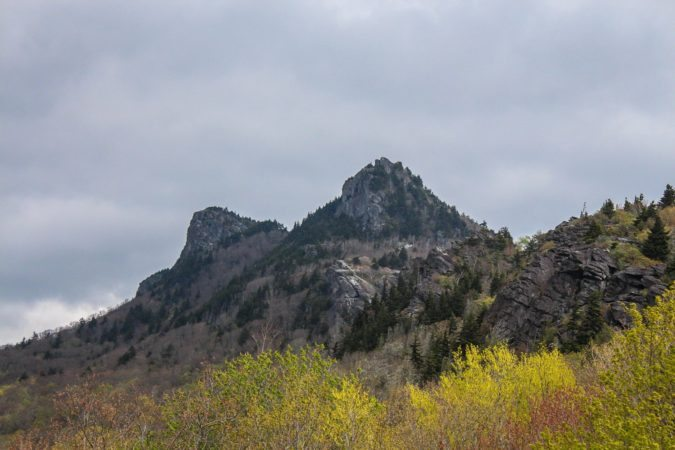 """Early Spring at Grandfather Mountain"" by Deborah Visbeck"