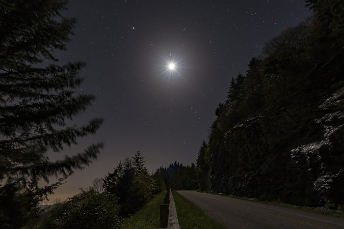 """""""Near Mt. Mitchell, Milepost 357"""" by Kevin Dobo"""