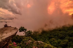 """""""Clouds Rolling in at Rough Ridge"""" by Melvin Hartley"""
