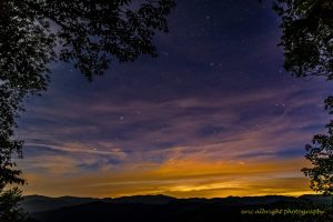 """""""Stars at the Balsam Mountain Picnic Area"""" by Eric Albright"""