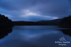 """""""Dusk at Price Lake Overlook, Milepost 296.7"""" by Griffey's Sunshine Photography"""