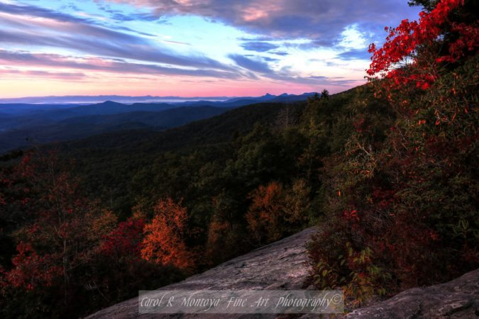 """Beacon Heights Overlook, Milepost 305.2"" by Carol R Montoya Fine Art Photography"