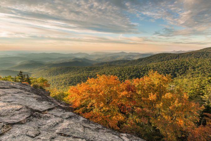 """Early Fall at Beacon Heights, Milepost 305.2"" by Dave LoSapio Photography"