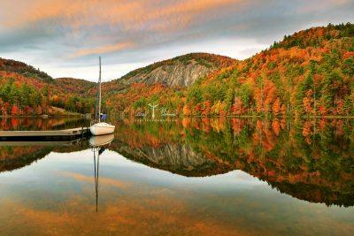 """Fairfield Lake, North Carolina"" by Carey Plemmons"