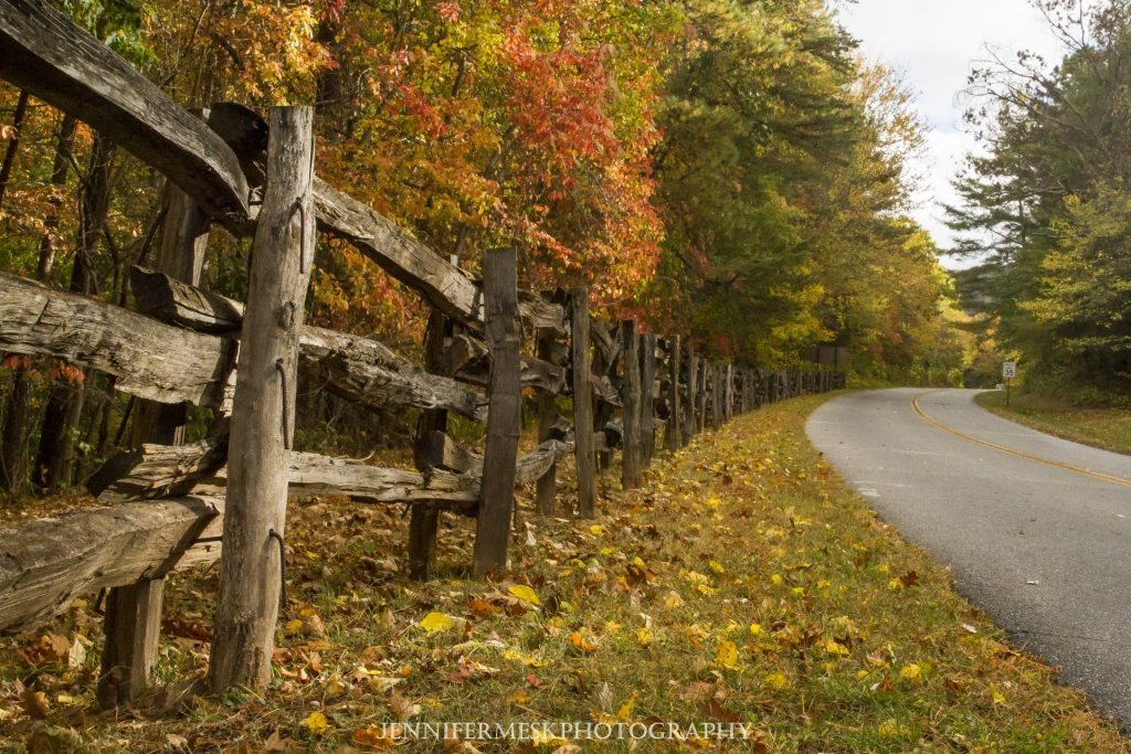 """Parkway at the US 74 Intersection, Asheville, NC"" by Jennifer Mesk Photography"