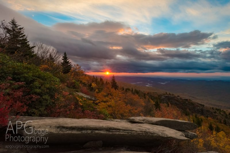 """Sunrise at Rough Ridge, Milepost 302.8"" by AP Gouge Photography"