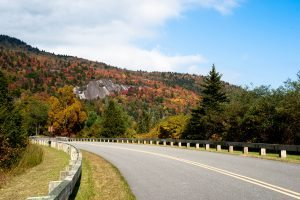 """The Blue Ridge Parkway at Grandfather Mountain"" by Steven Faucette"