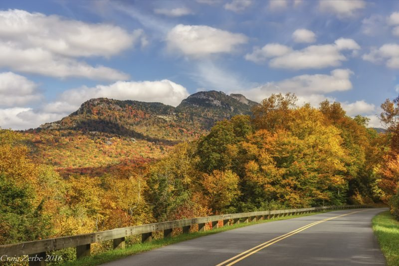 """Grandfather Mountain, Viewed from the Parkway"" by Craig Zerbe"