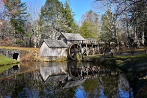 """November Morning at Mabry Mill, Milepost 176.1"" by Jack L. Ratcliffe"