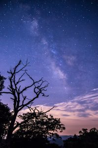 """Milky Way near Milepost 403"" by Dawnfire Photography"