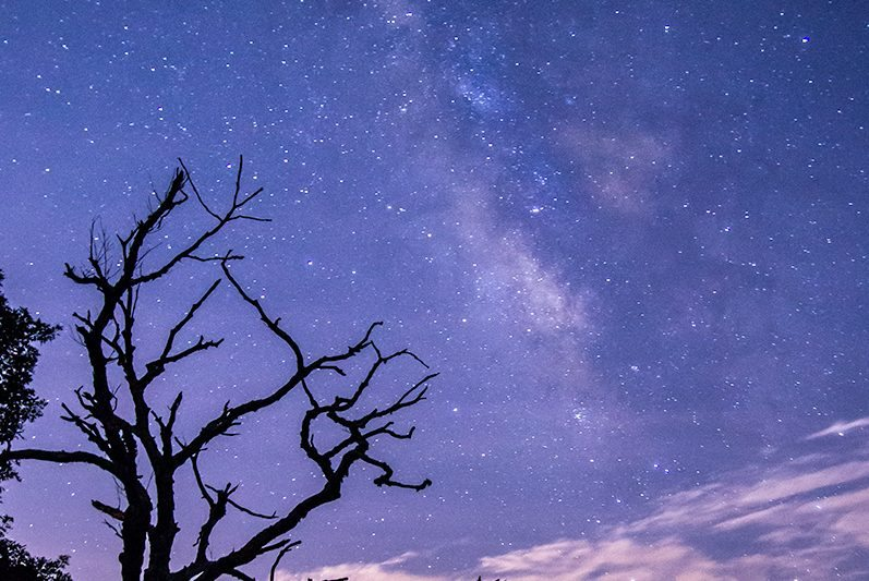 """Milky Way near Milepost 403"" by Dawnfire Photography"