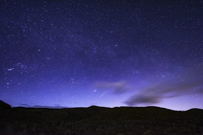 """Night Sky at Graveyard Fields Overlook, Milepost 419"" by Nicholas Holshouser"