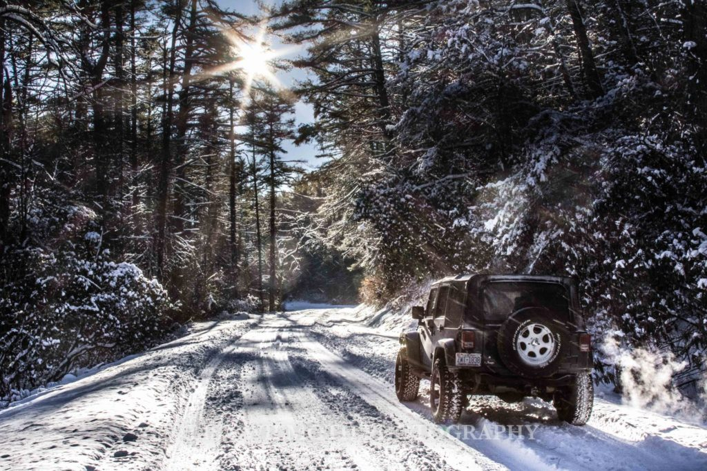 """""""Driving near Parkway Milepost 218"""" by Lisa Wilmoth Photography"""