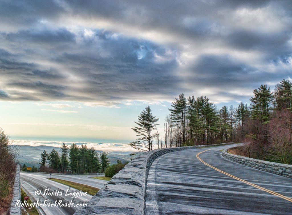 """Parkway Bridge over Hwy 421 in Deep Gap, NC"" by Bonita Loggins"