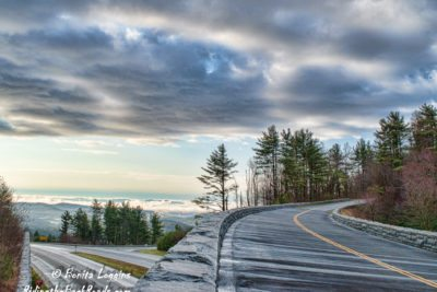 """Parkway Bridge over Hwy 421 in Deep Gap, NC"" by Bonita Loggins"