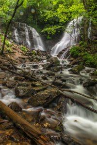 """""""Summer at Soco Falls, Milepost 455.7"""" by HD Carolina"""