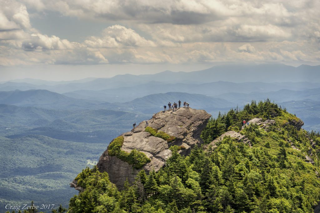 """MacRae Peak on Grandfather Mountain"" by Craig Zerbe"