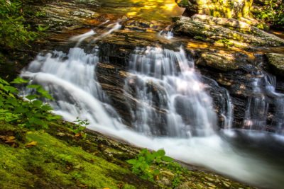 """Skinny Dip Falls, Milepost 417"" by HD Carolina"