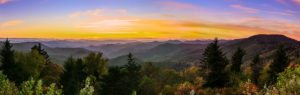 """Caney Fork Overlook, Milepost 428"" by Christian Burris"