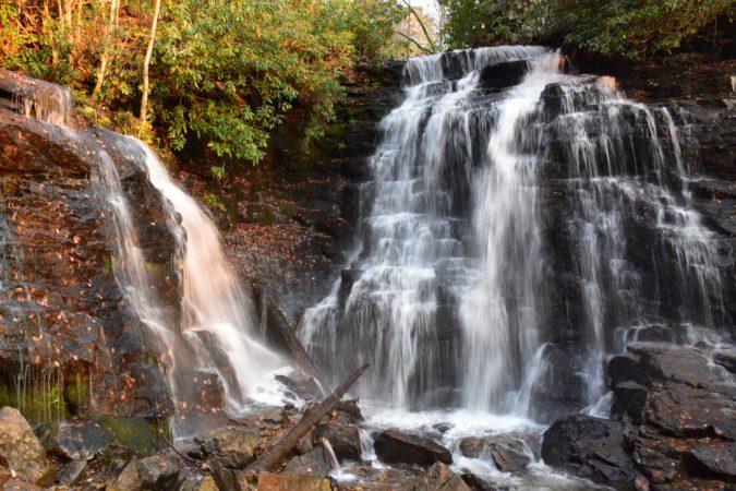 """Soco Falls, Milepost 455.7"" by Thomas Harper"