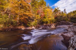 """Rapids Above Linville Falls, Milepost 316.4"" by SKumars"